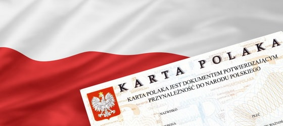 Изменение правил выдачи карты поляка